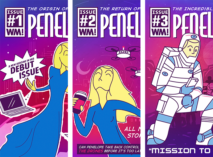 Watch Me Comics The Trilogy of Penelope